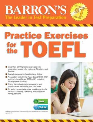 Practice Exercises for the TOEFL with MP3 CD, 8th Edition by Pam Sharpe