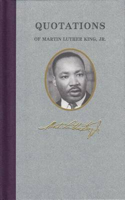 Quotations of Martin Luther King by Dr Martin King