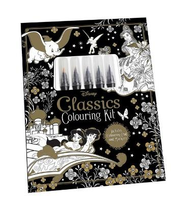 Disney Classics: Adult Colouring Kit book