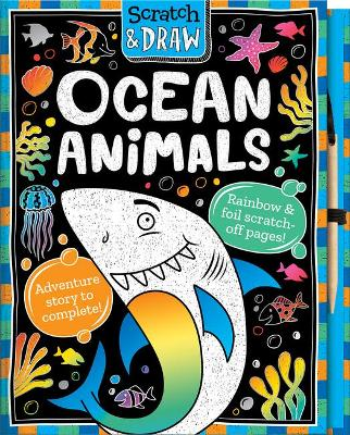 Scratch and Draw Ocean Animals book