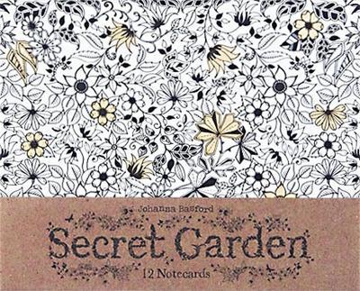 Secret Garden: 12 Notecards by Johanna Basford
