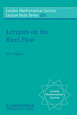 Lectures on the Ricci Flow book