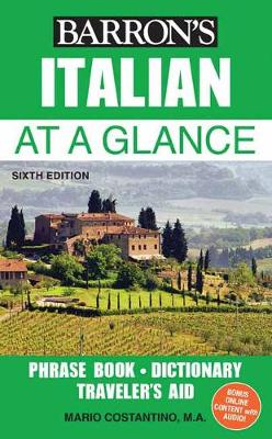 Italian at a Glance by Mario Costantino
