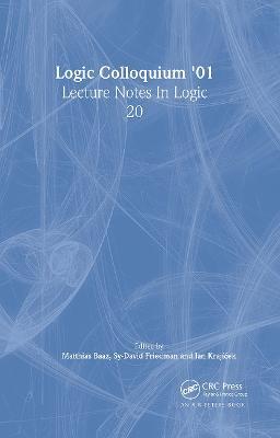 Logic Colloquium '01 book