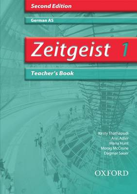 Zeitgeist: 1: AS Teacher's Book by Morag McCrorie