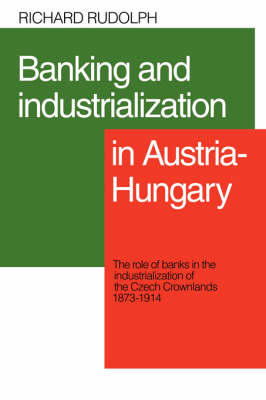 Banking and Industrialization in Austria-Hungary book