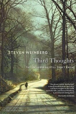 Third Thoughts: The Universe We Still Don't Know by Steven Weinberg