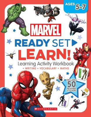 MARVEL WORKBOOK book
