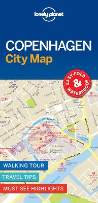 Lonely Planet Copenhagen City Map by Lonely Planet