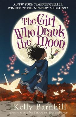 Girl Who Drank the Moon book