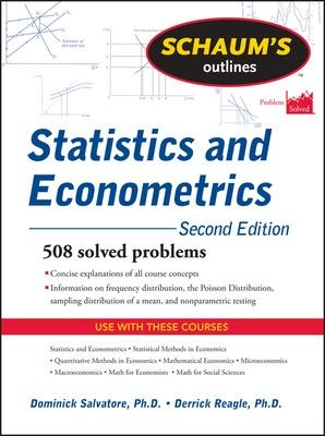 Schaum's Outline of Statistics and Econometrics, Second Edition by Dominick Salvatore