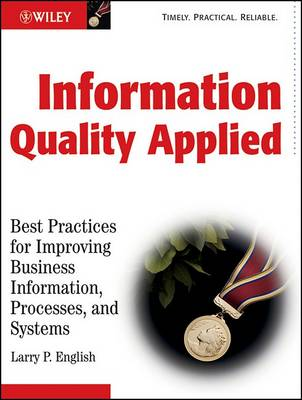 Information Quality Applied book