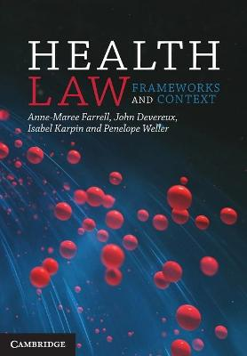 Health Law by Anne-Maree Farrell