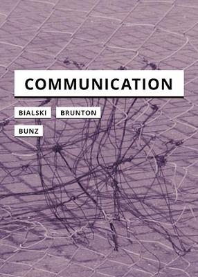 Communication by Finn Brunton