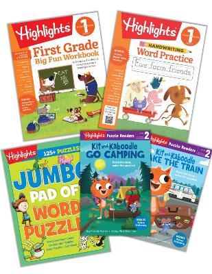 First Grade Learning Fun Bundle book