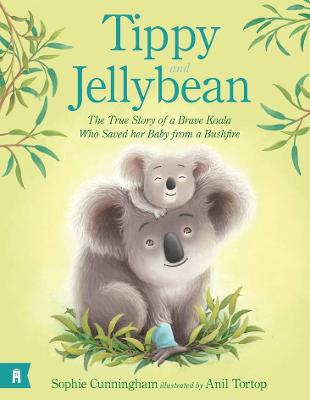 Tippy and Jellybean - the True Story of a Brave Koala Who Saved Her Baby from a Bushfire by Sophie Cunningham