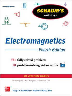 Schaum's Outline of Electromagnetics by Joseph Edminister