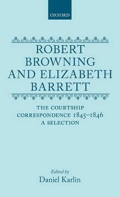 Robert Browning and Elizabeth Barrett by Daniel Karlin