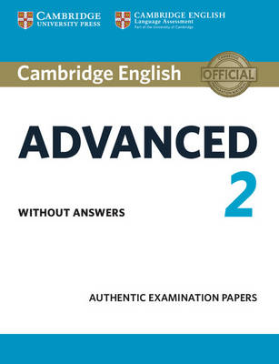 Cambridge English Advanced 2 Student's Book without answers by