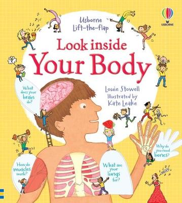 Look Inside Your Body book