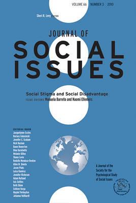 Social Stigma and Social Disadvantage by Manuela Barreto