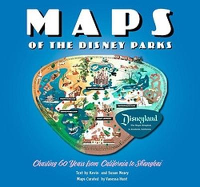 Maps of the Disney Parks by Kevin Neary