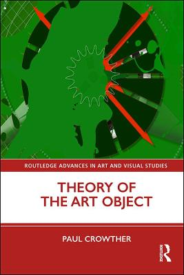 Theory of the Art Object book