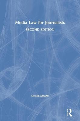 Media Law for Journalists book
