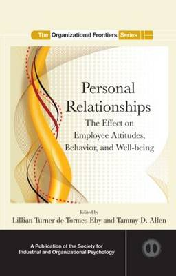 Personal Relationships by Tammy D. Allen