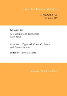 Kawaiisu by Maurice L. Zigmond