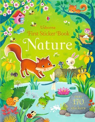 First Sticker Book Nature book