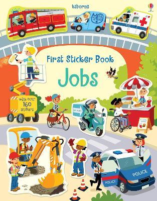 First Sticker Book Jobs by Hannah Watson