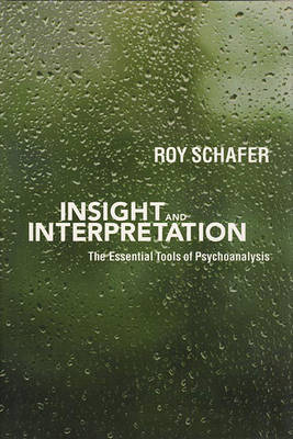 Insight and Interpretation by Roy Schafer