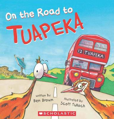 On the Road to Tuapeka by Benjamin Brown