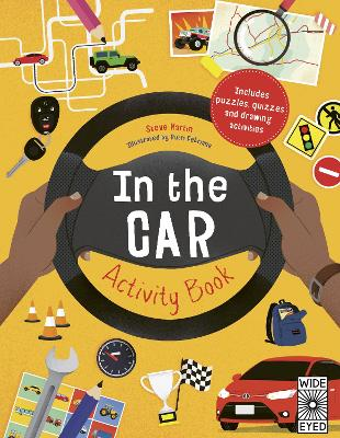 In the Car Activity Book book