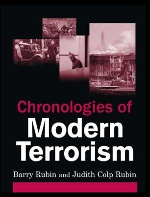 Chronologies of Modern Terrorism book