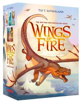 Wings of Fire 1-5 Boxed Set by Tui,T Sutherland