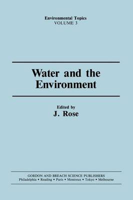 Water & the Environment book