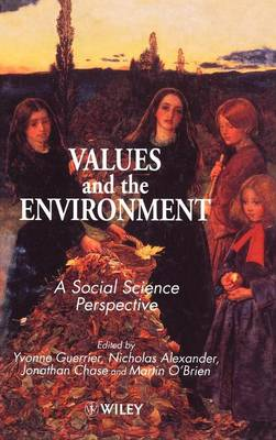 Values and the Environment book
