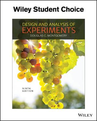 Design and Analysis of Experiments, 9E book