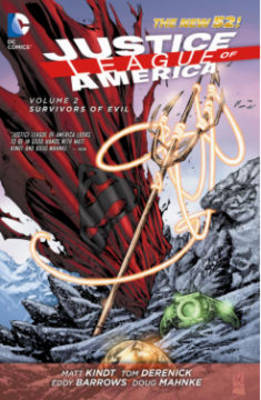 Justice League of America Volume 2: Survivors of Evil TP (The New 52) by Matt Kindt