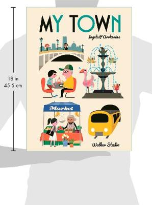 My Town by Ingela Peterson Arrhenius