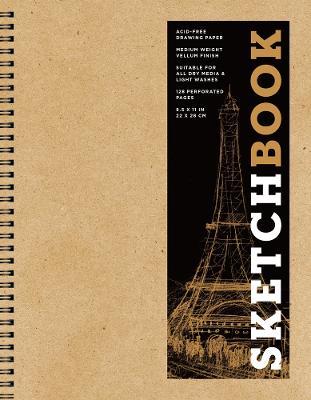Sketchbook (Basic Large Spiral Kraft) book