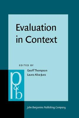 Evaluation in Context by Geoff Thompson