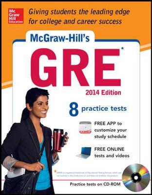McGraw-Hill's GRE with CD-ROM, 2014 Edition by Steven Dulan