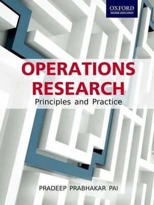 Operations Research by Pradeep Prabhakar Pai