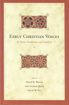 Early Christian Voices by David Warren