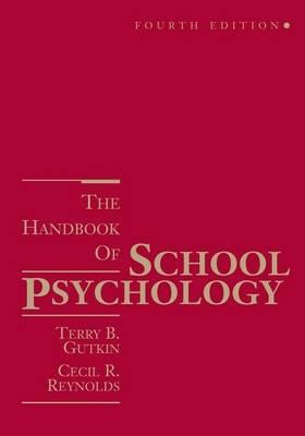 The Handbook of School Psychology by Terry B. Gutkin