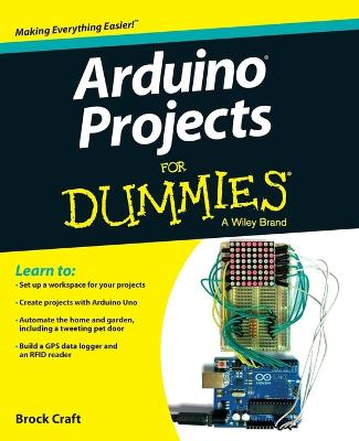 Arduino Projects For Dummies book