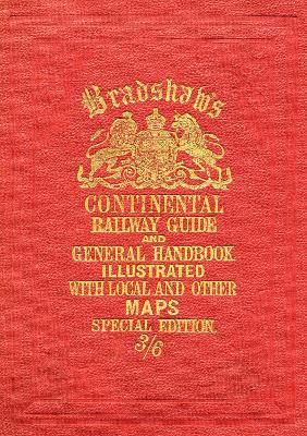 Bradshaw's Continental Railway Guide full edition book
